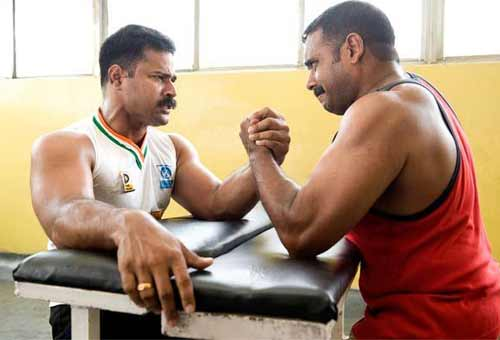 Arm Wrestling – Traditional Games Federation of India